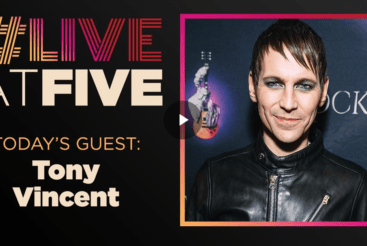 Live at Five with Tony Vincent